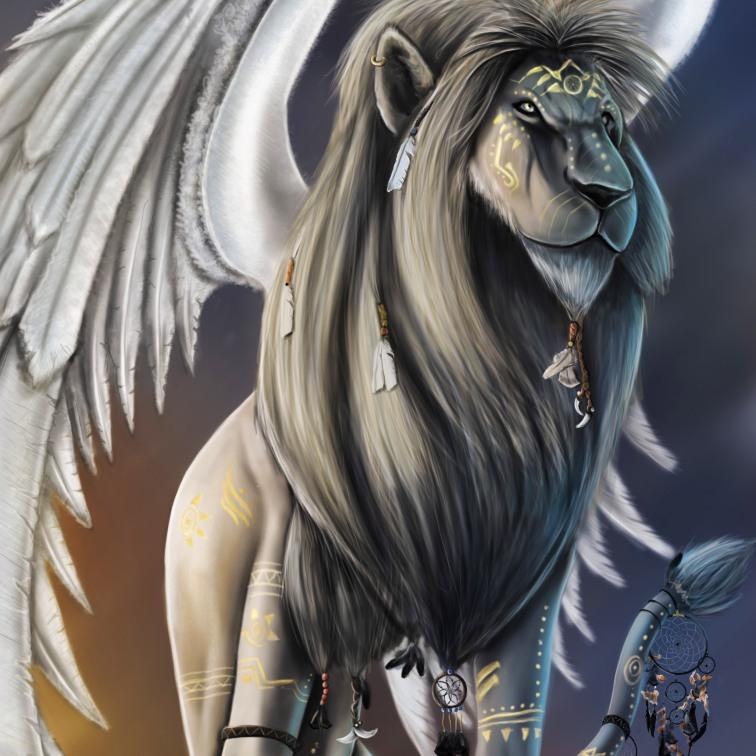 Légende pour Blogger's Magazine - Les animaux Totem